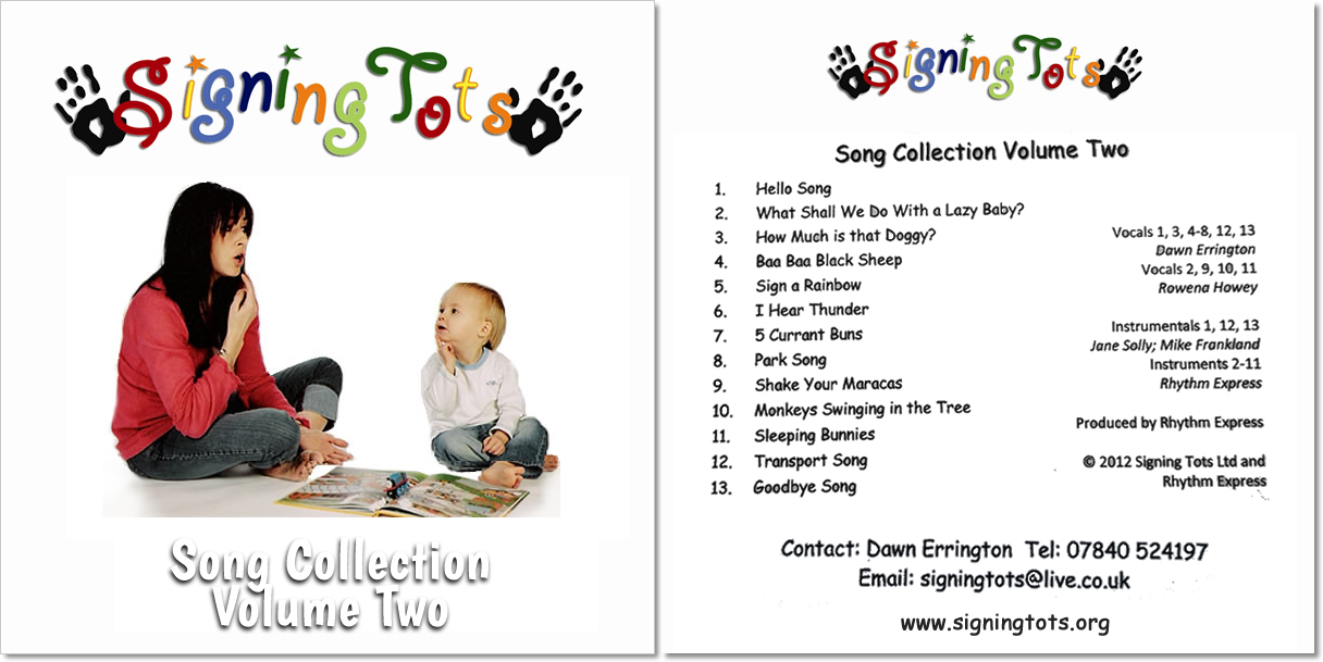 Baby signing Song Collection 2